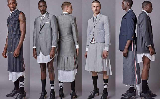 Trend Alert Dress Shirts Maxi Dresses Pleated Skirts And High Heels For Men Satisfashion Uganda