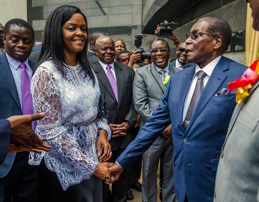 Gucci Grace Mugabe S Insatiable Love For Couture In Pictures Satisfashion Uganda
