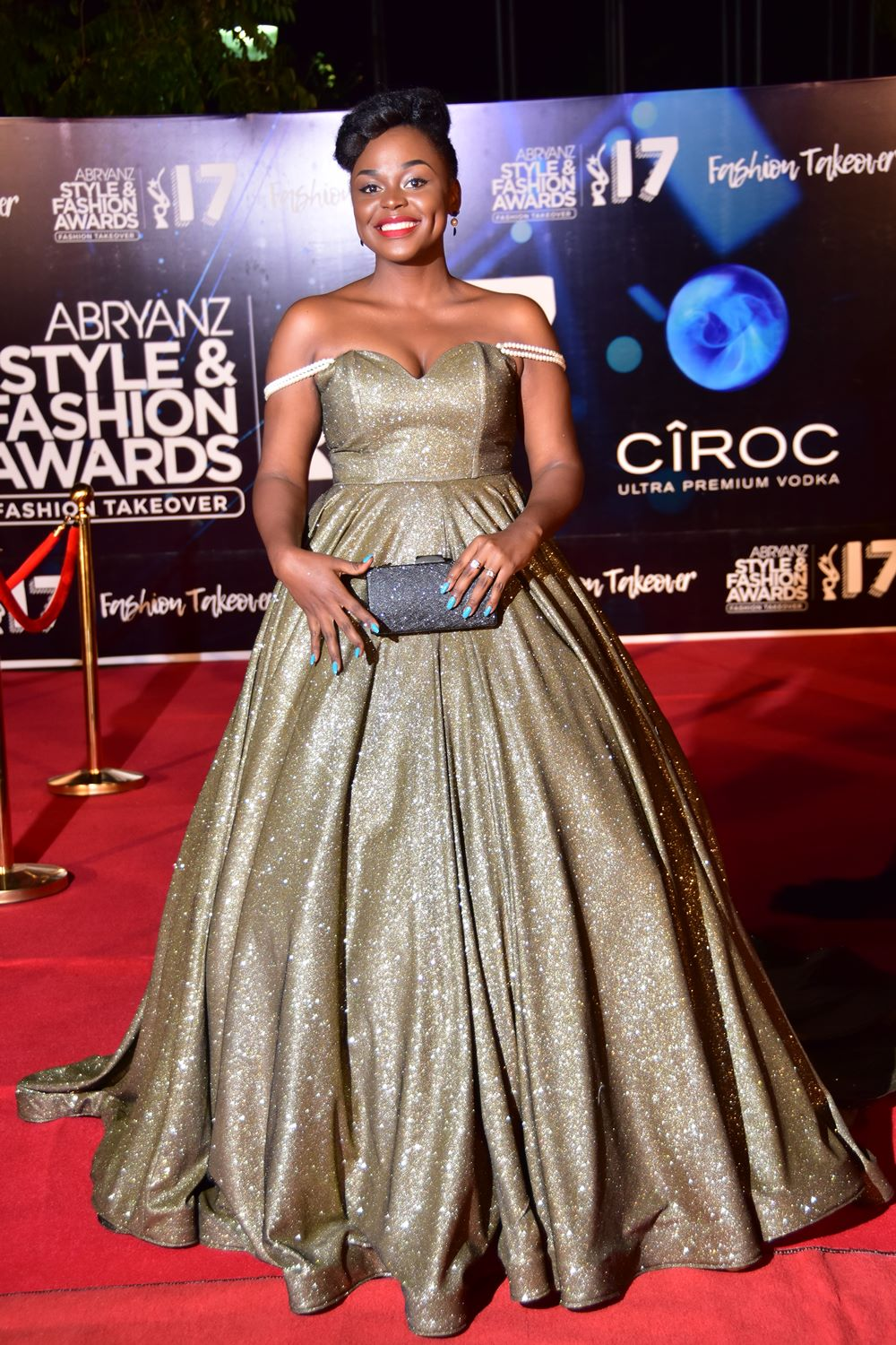 Here s why fatumah asha is satisfashion ug s designer of - Designer red carpet dresses ...