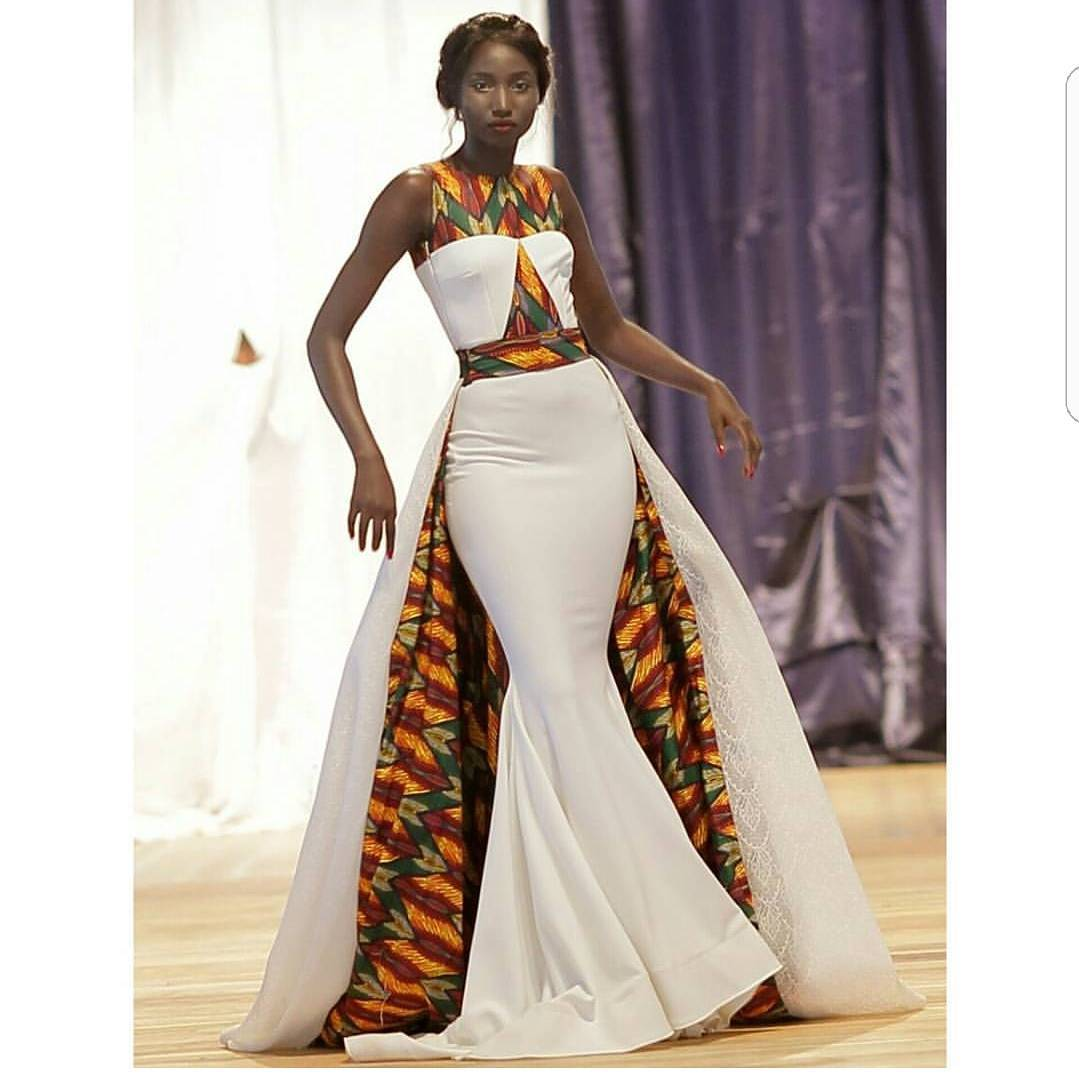 c176e5d94019 The dress is named after model Chandia Dorothy Micheals who wore the  custom-made design sparking a frenzy on social media. The dress features a  mermaid ...