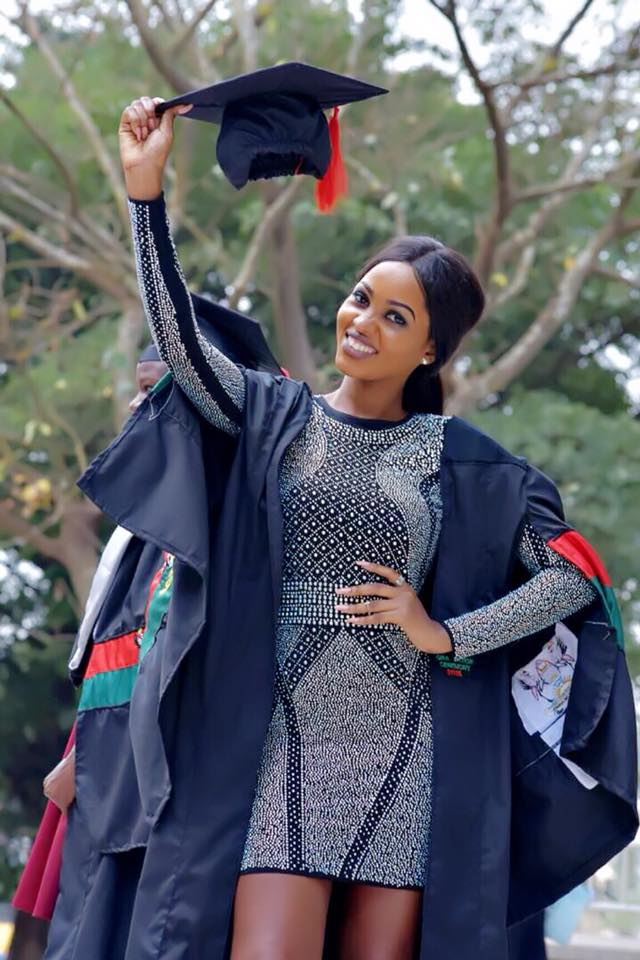 Spice Diana Brings The Heat With Her Graduation Outfit