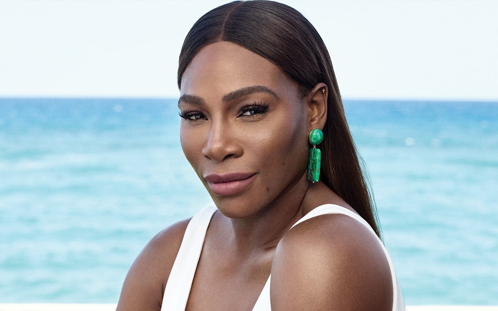 Serena Williams Perfect Eyebrows And Full Lips Star On