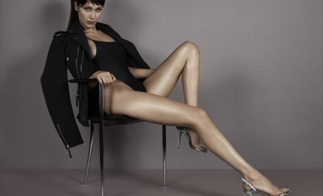 f1c63a2a62d2 Bella Hadid and Her Legs Star in Giusseppe Zanotti s SS18 Ad Campaign – SatisFashion  Uganda
