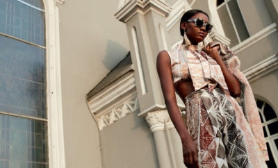 de8e36b42e6d Oluchi Orlandi Photographed on The Streets of Lagos For Elle South Africa s  Jan 2018 Issue